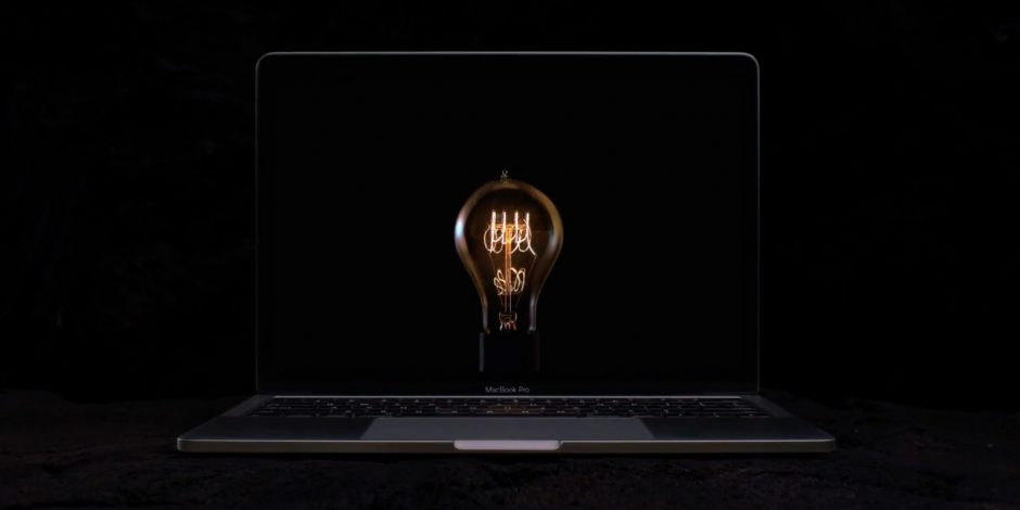Новая реклама MacBook Pro от Apple 'Bulbs'