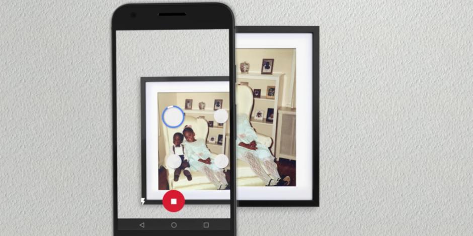 Google представили приложение 'PhotoScan' для сканирования старых фото через iPhone