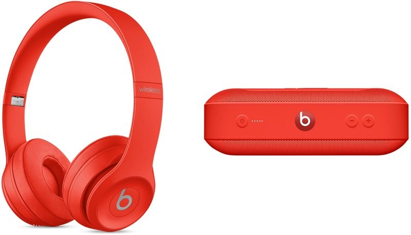 Apple представили (PRODUCT) RED беспроводные наушники Solo3 и Beats Pill + колонки