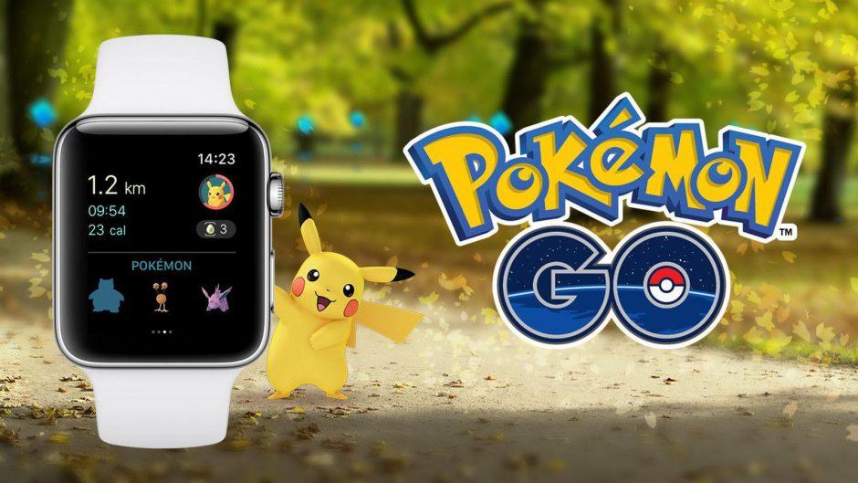 Игра Pokémon GO для Apple Watch доступна в App Store