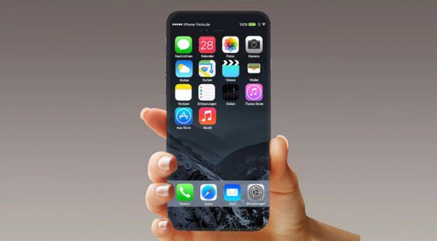 OLED iPhone 8 получит изогнутый дисплей и новые сенсорные технологии