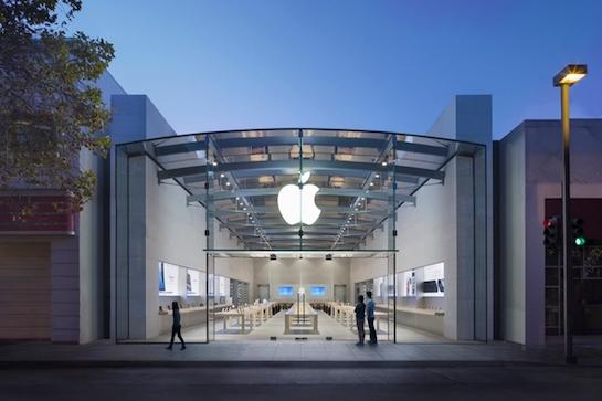 Apple магазин в Пало Альто временно закрыт