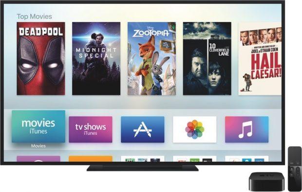 Apple увеличивает максимальное значение размера tvOS приложения до 4 Гб