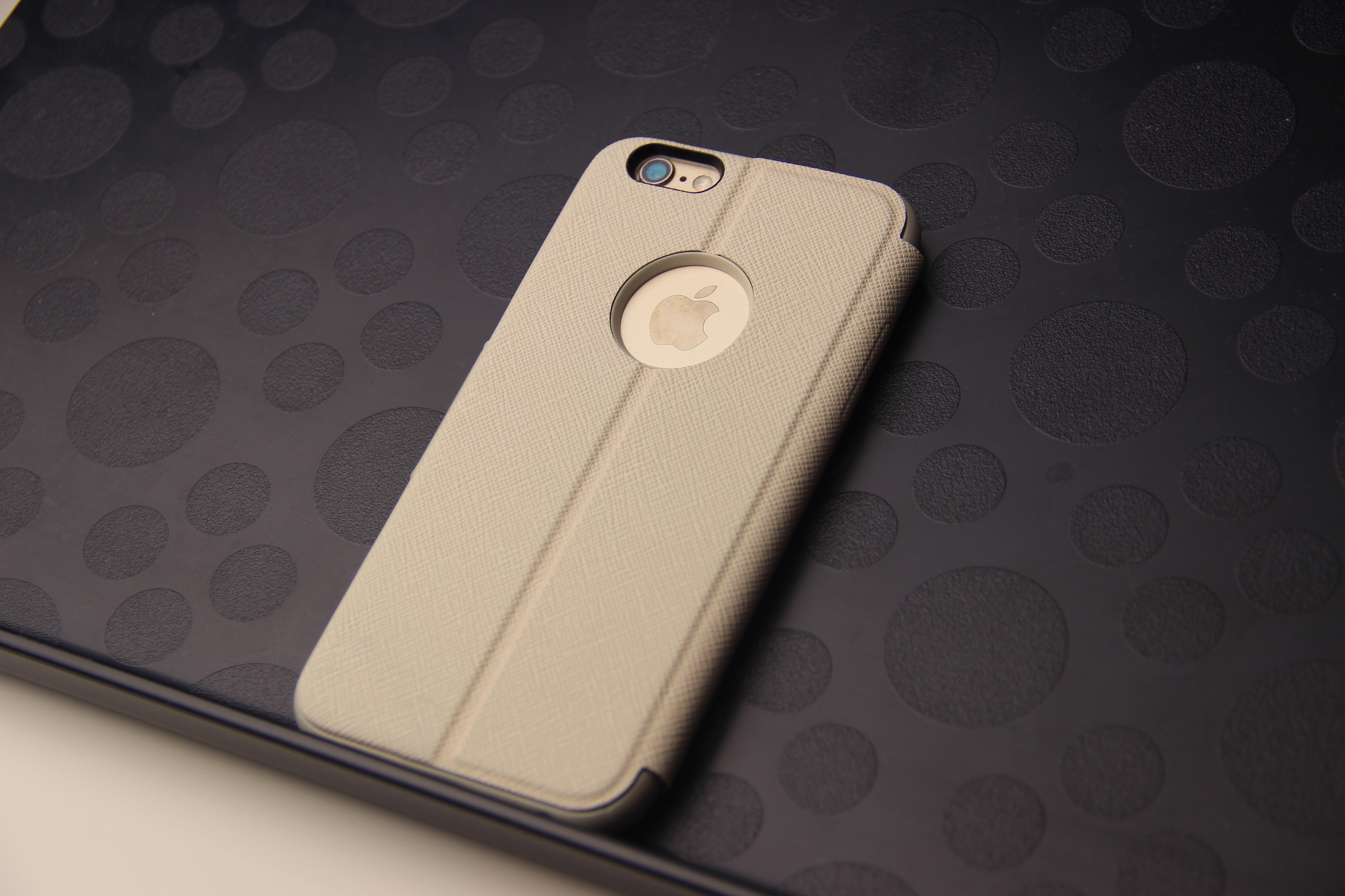 Обзор чехла Moshi Sensecover для iPhone 6 & 7