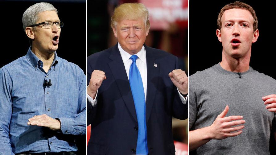 Apple идет против политики Трампа