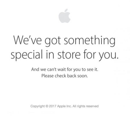 Интернет-магазин Apple закрыт. Ждём обновлений