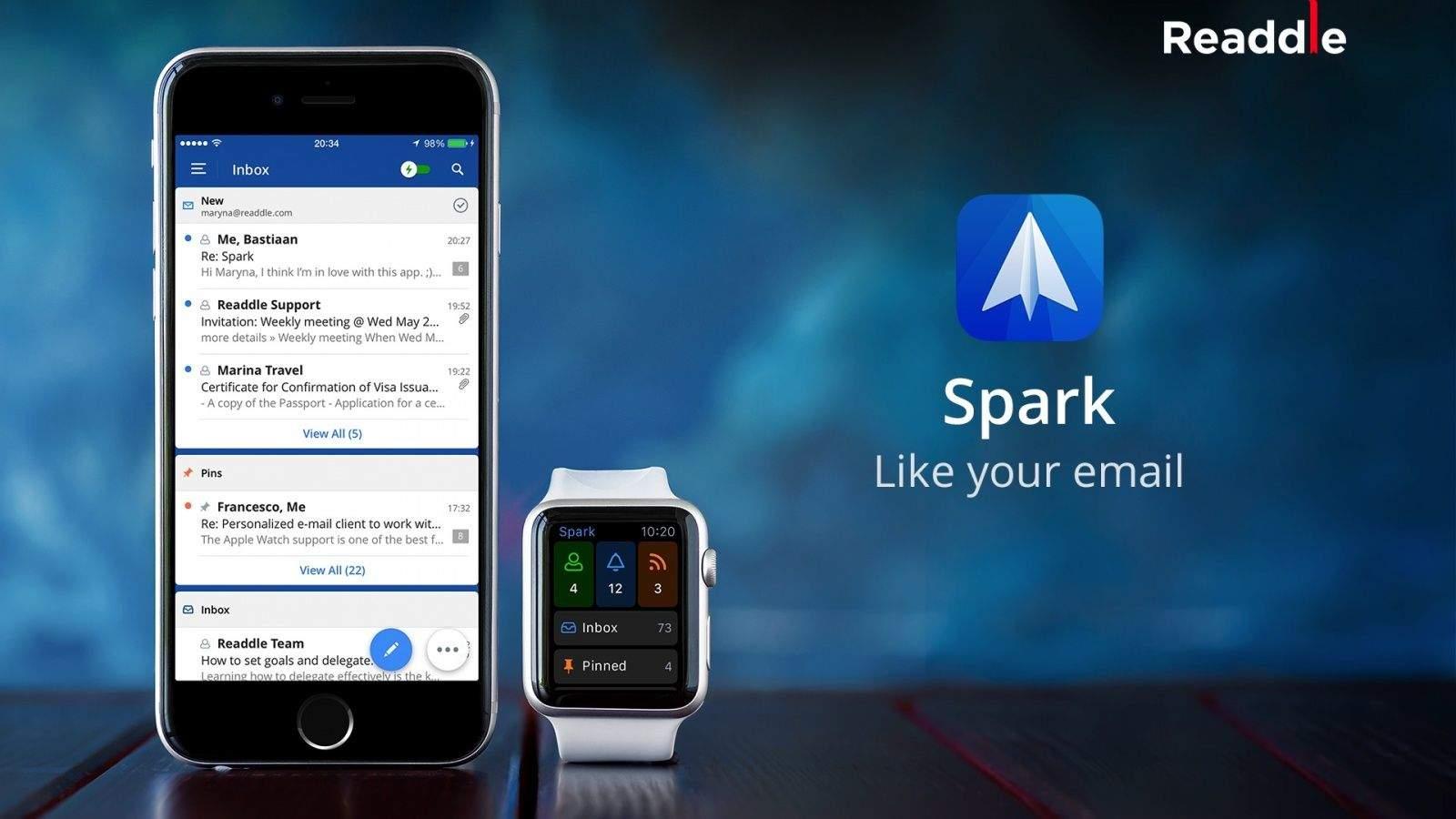Терри Бланчард из Apple Mail присоединился к Readdle для работы над популярным почтовым клиентом «Spark»