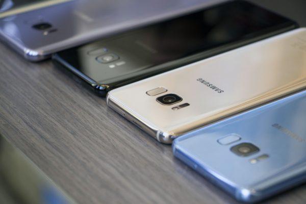Samsung представила Galaxy S8 и S8 + с функцией распознавания лица по радужной оболочке и без кнопки Home