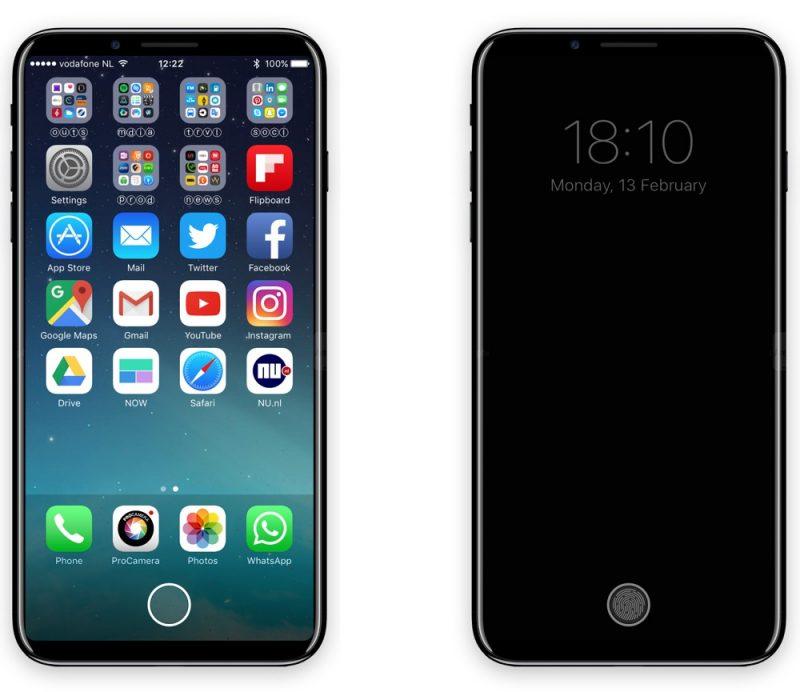 iPhone 8 будет стоить в районе $ 850 — $ 900 для модели на 64 Гб, $ 950 — $ 1,000 для модели на 256 Гб