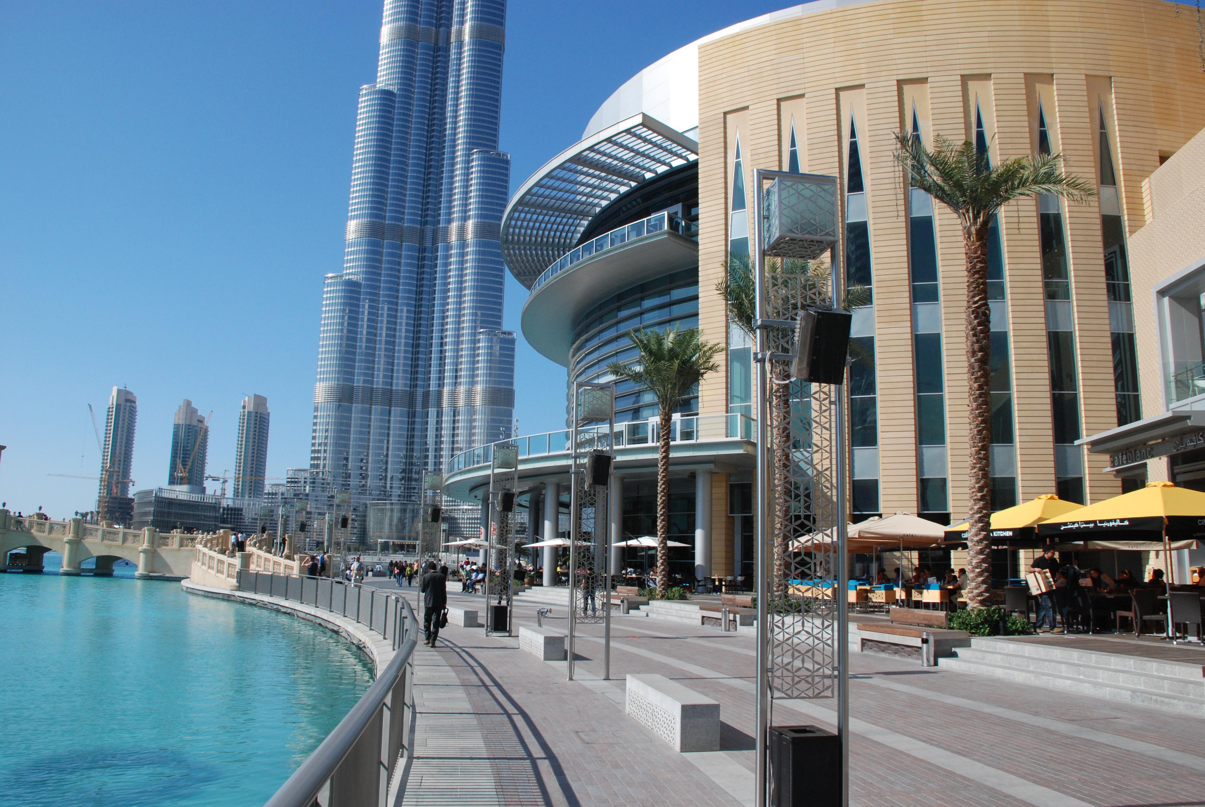 Apple празднует открытие нового магазина в Dubai Mall