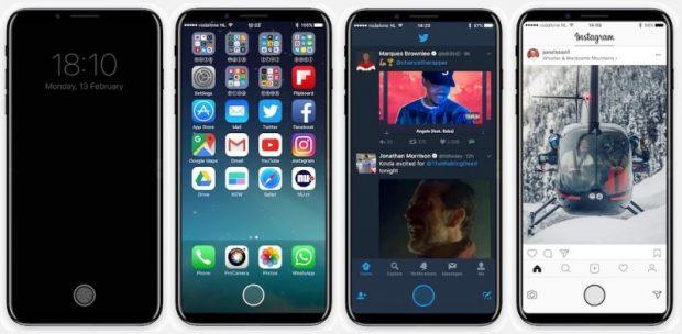 iPhone 8 возможно выйдет в октябре или ноябре