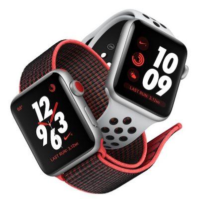 Apple Watch Series 3's Nike+ будут доступны с 5 октября