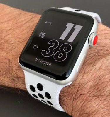 Apple Watch Nike+ Series 3 с GPS и LTE доступны в магазинах
