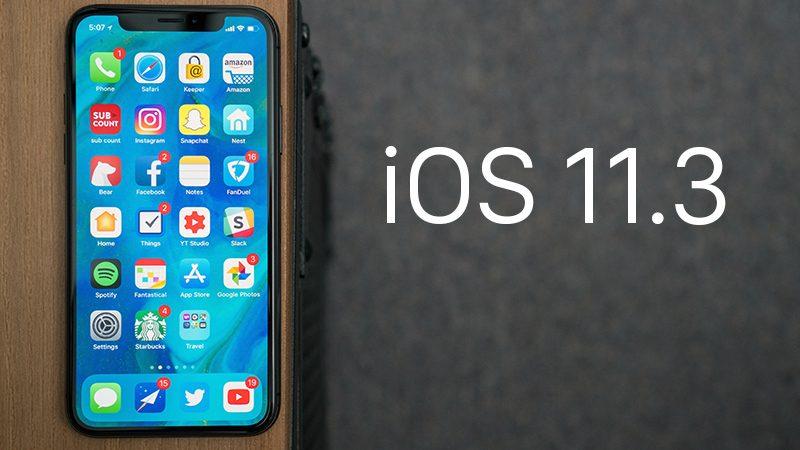 Главные изменения обновления iOS 11.3