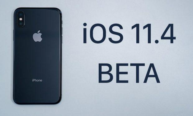 Apple выпустила вторую бета-версию iOS 11.4 для разработчиков
