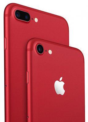 iPhone 7 в красном цвете
