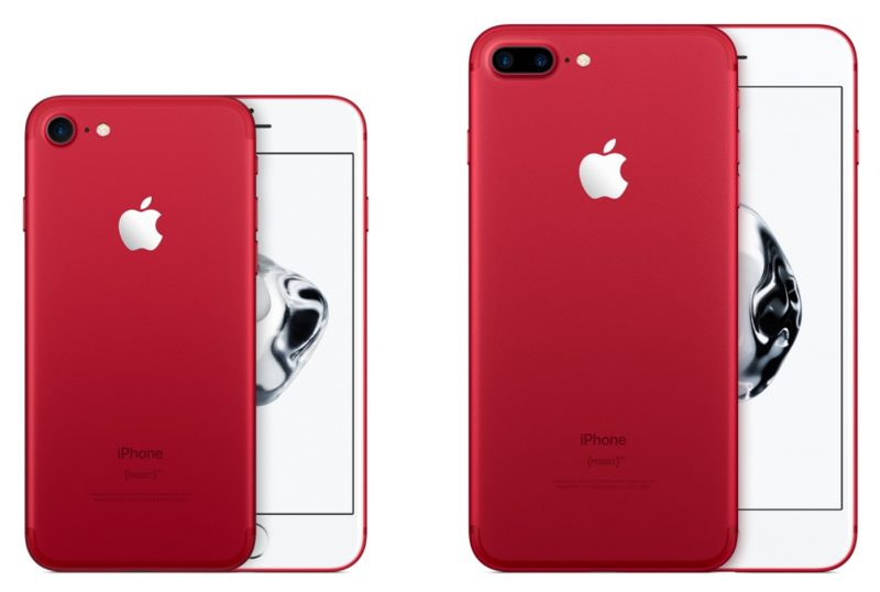 Apple представит (PRODUCT) RED iPhone 8 и iPhone 8 Plus в понедельник