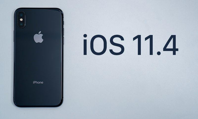 Apple прекращает подписку на iOS 11.4 после запуска iOS 11.4.1