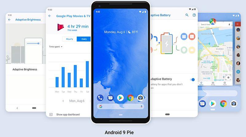 Google выпускает Android 9 Pie (Пирог), поскольку предыдущий релиз Oreo установлен только на 12%-х устройств
