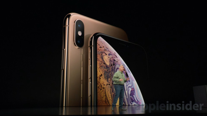 Apple анонсировала «iPhone Xs» и «iPhone Xs Max» в золотом цвете и 2SIM