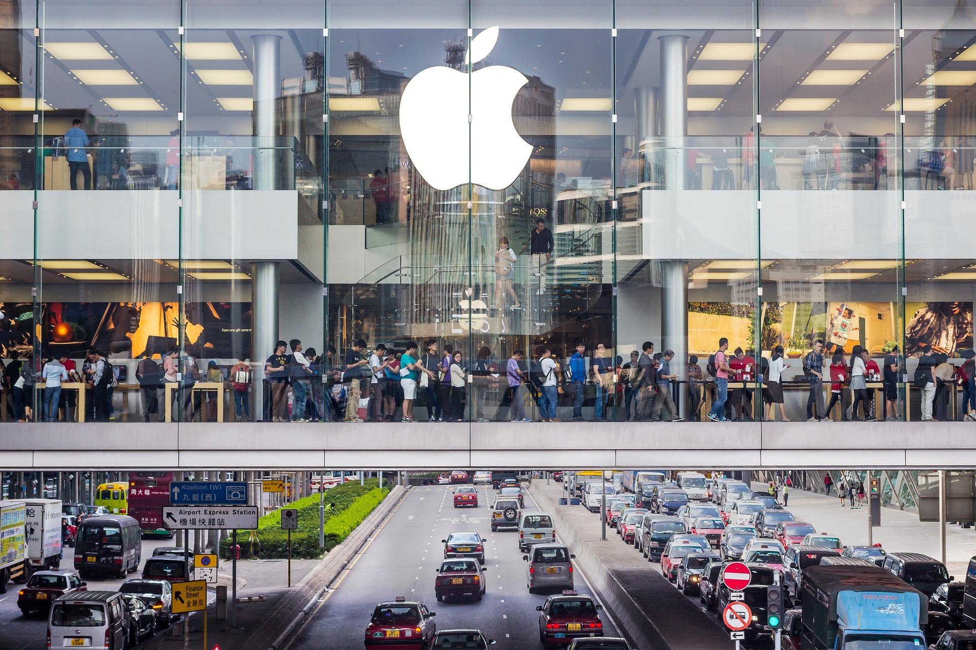 Пять магазинов Apple откроются в эту субботу с новым дизайном