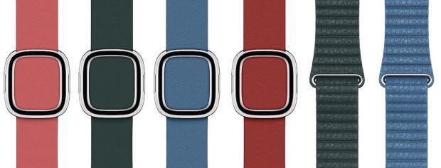 Новые цвета ремешков для Apple Watch Series 4