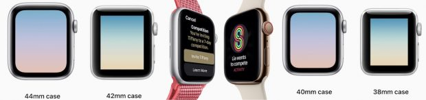 Сравнение Apple Watch Series 4 с Apple Watch Series 3