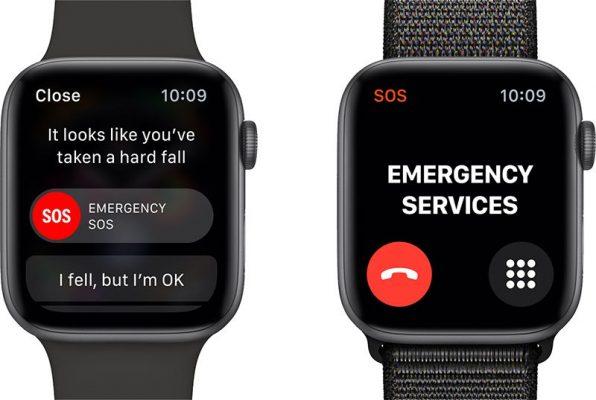 Apple Watch Series 4. Функция обнаружения падения отключена по умолчанию, если вам меньше 65 лет