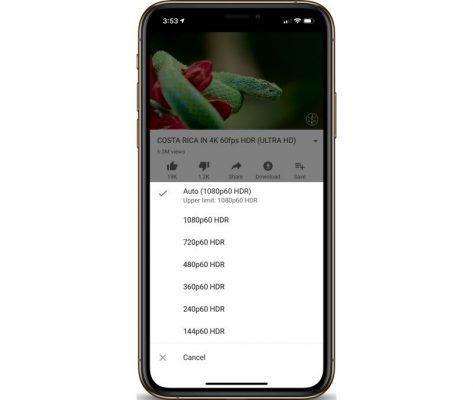 Приложение YouTube для iOS получило поддержку HDR для iPhone XS и XS Max