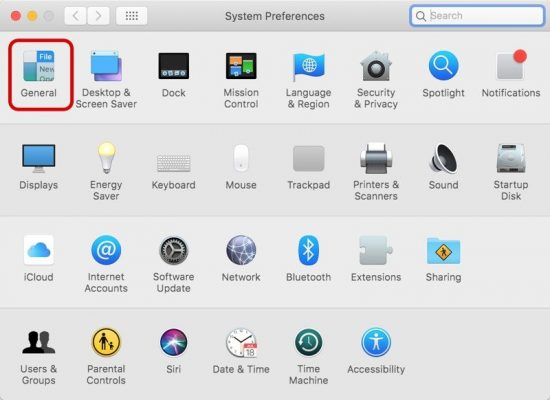 Как включить режим Dark Mode на macOS Mojave?