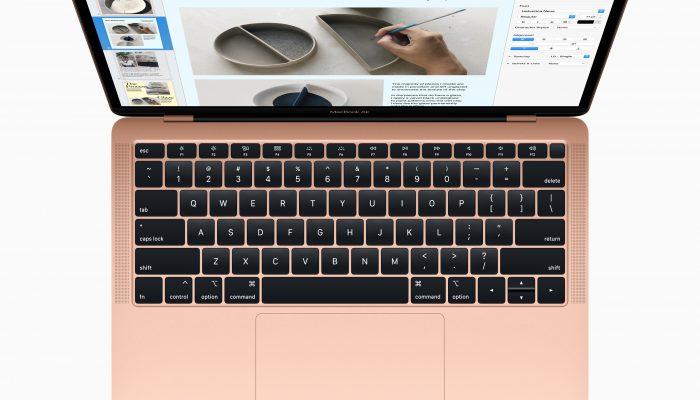 Apple анонсировала новый MacBook Air с 13-дюймовым Retina дисплеем и сенсорным ID