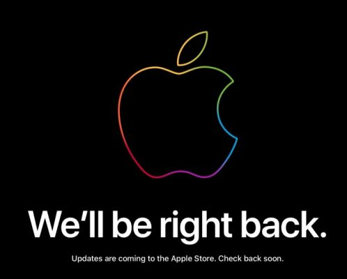 Apple Store закрылся в преддверии сегодняшнего события в Нью-Йорке