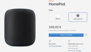 HomePod вышла в Испании и Мексике