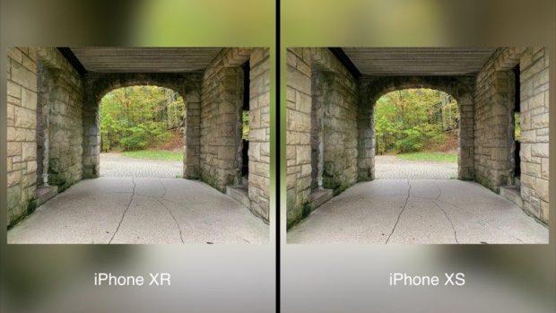 Сравнение камеры iPhone XR и iPhone XS Max