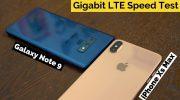 iPhone XS быстрее, чем iPhone X, но медленнее, чем Galaxy Note 9 в тесте на скорость LTE