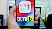 Apple выпустила пятую бета-версия iOS 12.1 для разработчиков