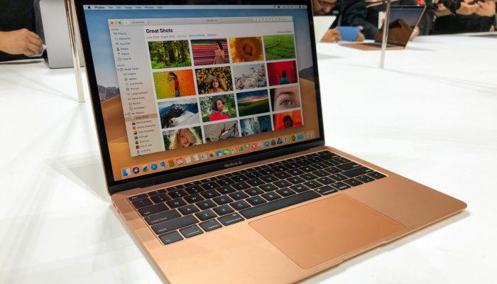 Первый результат тестов Benchmark MacBook Air 2018