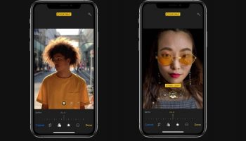 Apple показывает функцию управления глубиной размытия фона на iPhone XS, XS Max и XR в новом видео
