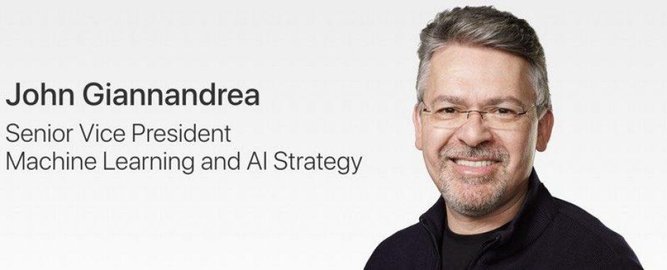 Руководитель Apple AI Джон Джаннандреа получил повышение до старшего вице-президента