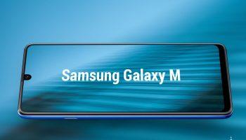 Смартфоны Samsung Galaxy M с дисплеями Infinity V представят в январе
