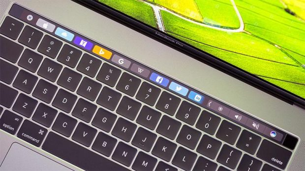 Touch Bar на MacBook