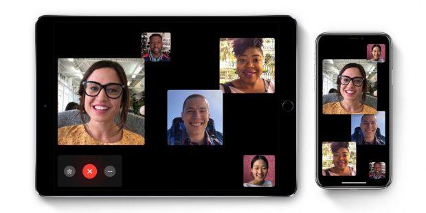 group facetime iphone ipad ios 12 620x310 - iOS 12.1.4 теперь доступна с исправлением ошибки групповых звонков FaceTime
