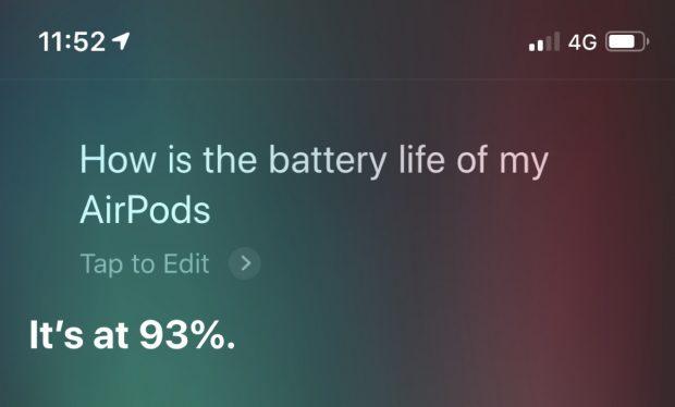 Как проверить заряд батареи AirPods на iPhone и Apple Watch
