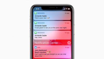 Как очистить уведомления на iPhone