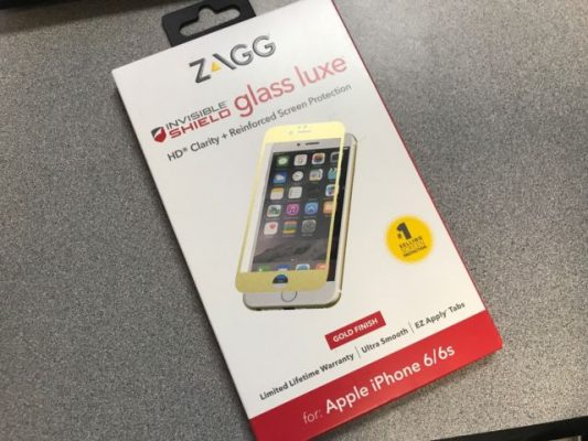 Zagg Invisible Shield Glass