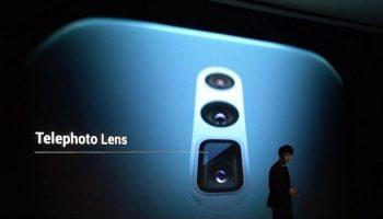 Oppo представляет смартфон с тремя камерами и с 10-кратным оптическим зумом
