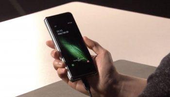 Samsung представляет новый смартфон Galaxy Fold стоимостью $ 1980