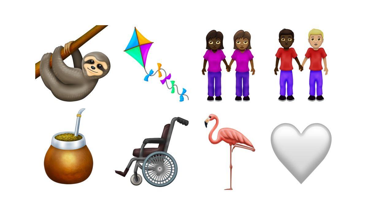 Вафли, фламинго, выдра, ленивец, скунс и чеснок среди новых Emojis, появившихся на iOS в 2019 году
