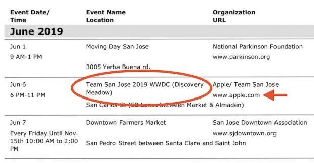 Подтвержденные даты WWDC 2019: 3-7 июня в Сан-Хосе
