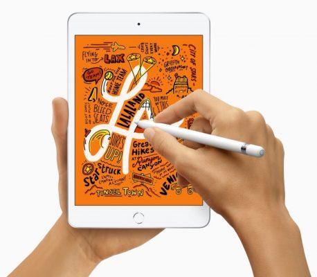 Apple объявляет о выпуске нового iPad mini 5-го поколения с поддержкой Apple Pencil, обновленным дисплеем Retina и чипом A12